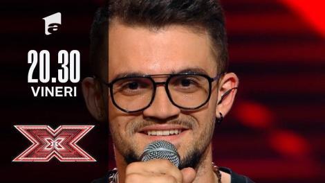 X Factor sezonul 10, 8 octombrie 2021. Jurizare Edson D'Alessandro