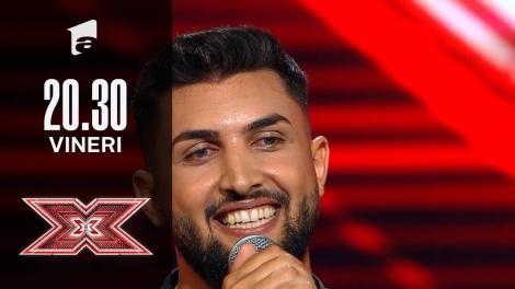 X Factor sezonul 10, 8 octombrie 2021. Jurizare Ștefan Dinca