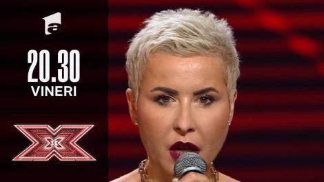 X Factor sezonul 10, 8 octombrie 2021. Jurizare Florentina Tuchel Matei