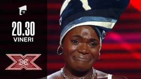 X Factor sezonul 10, 8 octombrie 2021. Jurizare Oma Jali
