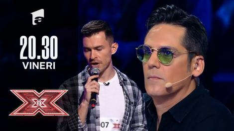 X Factor sezonul 10, 8 octombrie 2021. Florin Iordache - Michael Jackson - Man In The Mirror