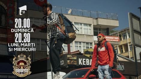 Asia Express sezonul 4, 10 octombrie 2021. Cuza și Emi au negociat la sânge cu un șofer turc