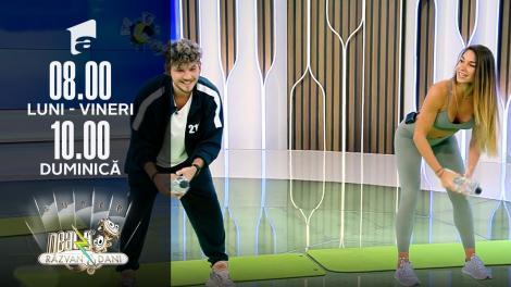 Super Neatza de Weekend, 10 octombrie 2021.   Diana Stejereanu și Cuza, super antrenament cu o sticlă de apă