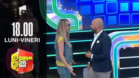 Preţul cel bun sezonul 1, 13 octombrie 2021. Cristina Diaconu l-a făcut pe Andrei Ștefănescu să se simtă mic