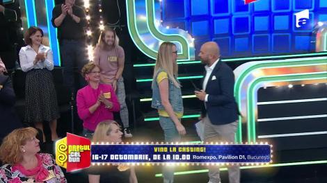 Preţul cel bun sezonul 1, 13 octombrie 2021. Ana Maria a pierdut un televizor 4k