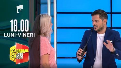 Preţul cel bun sezonul 1, 15 octombrie 2021. Replici amuzante între Liviu Vârciu și o concurentă: Ne înțelegem bine!