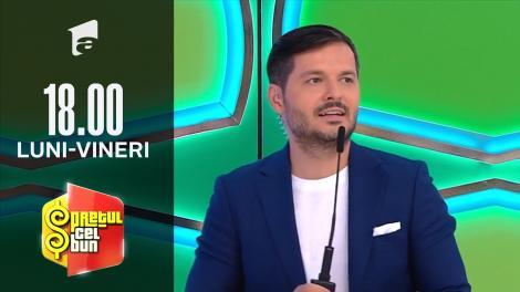 Preţul cel bun sezonul 1, 15 octombrie 2021. Andrei a câștigat un televizor