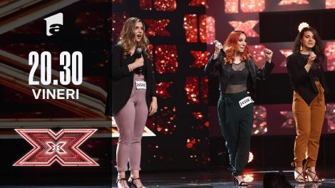 X Factor sezonul 10, 15 octombrie 2021. Jurizare Threal Grup