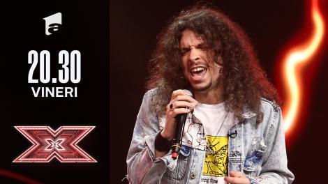X Factor sezonul 10, 15 octombrie 2021. Mădălin Antonesei: Red Hot Chili Peppers - Higher Ground