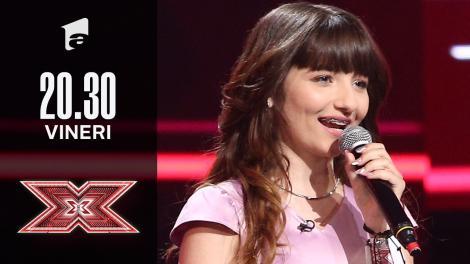 X Factor sezonul 10, 15 octombrie 2021. Jurizare Ilona Andreea Necula