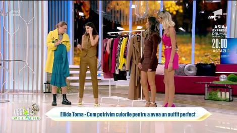Super Neatza de Weekend, 17 octombrie 2021. Fashion Tips: Asortarea culorilor la vestimentație