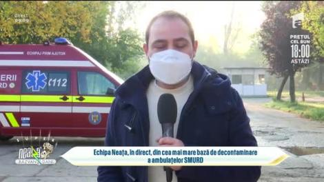 Super Neatza, 20 octombrie 2021. Cum arată o unitate de decontaminare a ambulanțelor SMURD