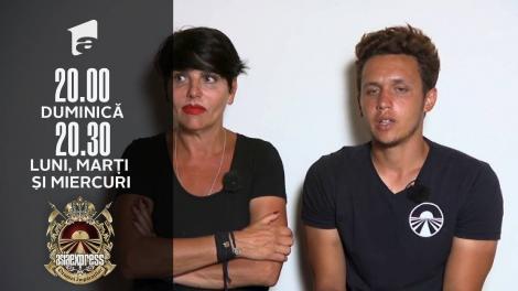 """Asia Express sezonul 4, 20 octombrie 2021. Patrizia i-a """"dat un pumn"""" lui Francesco"""