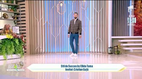 Super Neatza de Weekend, 21 octombrie 2021. Cristian Guță, super prezentare de modă la Stil de Succes by Ellida Toma