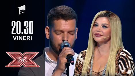 X Factor sezonul 10, 22 octombrie 2021. Alexandru Ștefan Stoica: Andy Williams - The Impossible Dream
