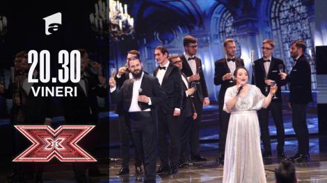 X Factor sezonul 10, 22 octombrie 2021. Cantus Domini - Libiamo, ne' lieti calici, din Traviata