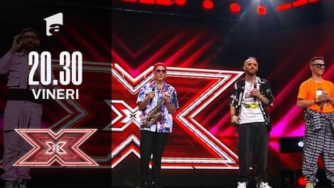 X Factor sezonul 10, 22 octombrie 2021. Jurizare Le Teste Di Ozzak