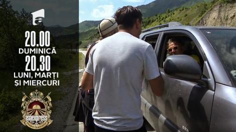 Asia Express sezonul 4, 25 octombrie 2021. Surpriză la autostop! Soții Natanticu au dat de un șofer care vorbea limba română