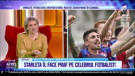 Acces Direct, 26 octombrie 2021. Focoasa starletă Mona Stoian şi fotbalistul Cristian Jitaru şi-au declarat război, după 10 luni de iubire!