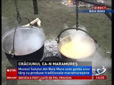 Atmosferă de Crăciun la Maramureş! La Muzeul Satului se găteşete româneşte şi se ascultă colinde