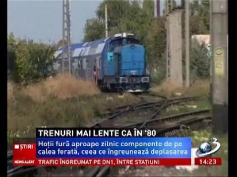 Trenurile din România, mai lente ca în anii 80