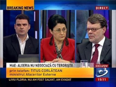 Titus Corlăţean: Algeria nu negociază cu teroriştii