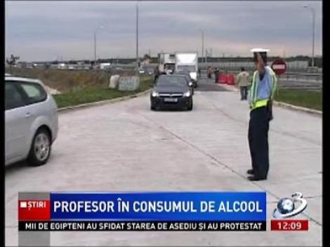 Un profesor de la un liceu din Slobozia a fost prins băut la volan. Acesta se îndrepta spre şcoala la care predă