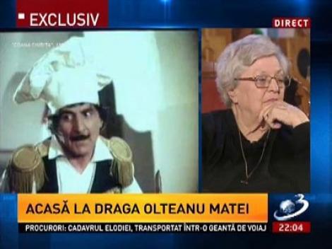 Draga Olteanu Matei, despre rolul din Coana Chiriţa