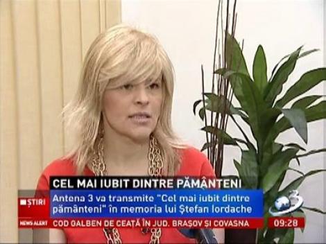 Sanda Ladoşi: Lui Ştefan Iordache îi era teamă să nu dezamăgească