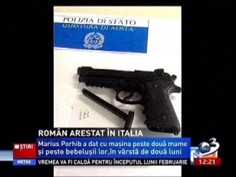 Un român de 21 de ani originar din Tecuci a fost arestat în Italia după ce accidenta 2 mame care se aflau cu copii