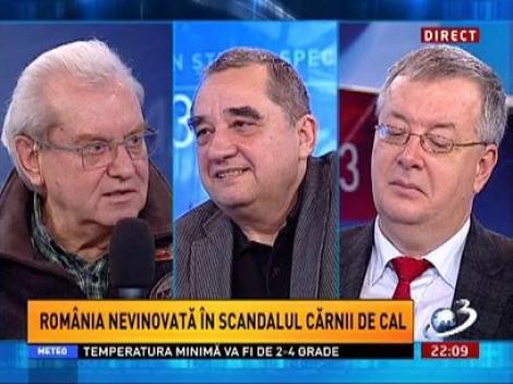 Gheorghe Mencinicopschi, despre diferenţa dintre carnea de cal şi cea de vită
