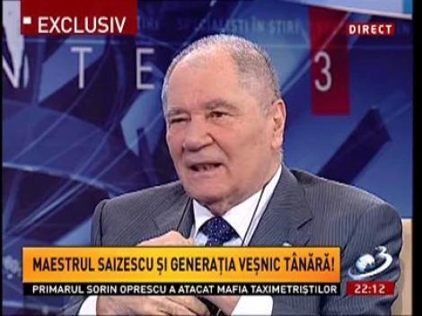 Sinteza Zilei: Actorul Ion Besoiu, despre prietenia cu Geo Saizescu