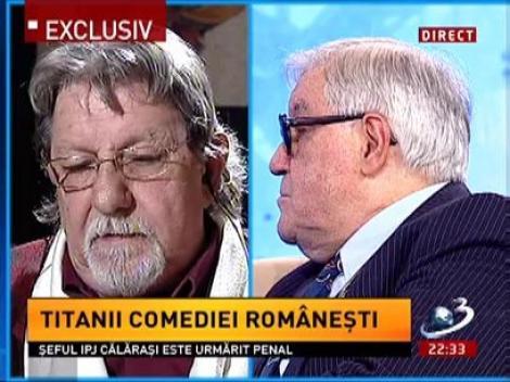Sebastian Papaiani, despre Geo Saizescu: Mi-a fost regizor, prieten, dar şi naş[