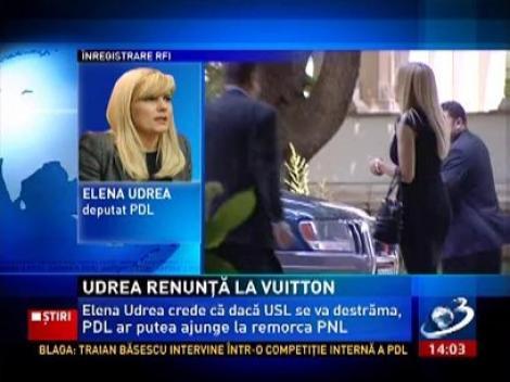 Elena Udrea renunţă la poşetele scumpe