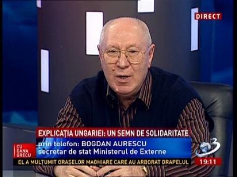 La Ordinea Zilei: Bogdan Aurescu, despre arborarea steagului secuiesc pe clădirea Parlamentului