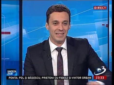 Mircea Badea: Domnul Băsescu stă bine cu prostata! Dacă are un dormit de 200 de meri, înseamnă că stă bine cu prostata! Hai că doamna Băsescu ia calul și se duce!