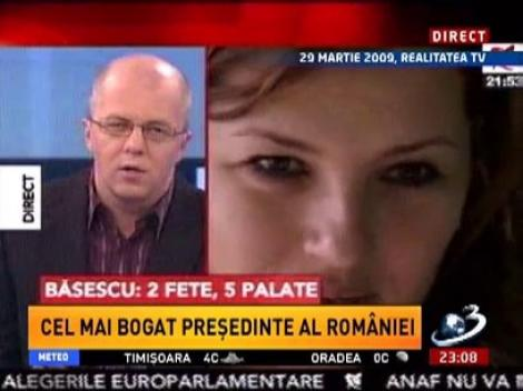 Sinteza Zilei. Traian Băsescu: 2 fete, 5 palate