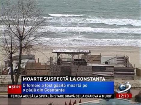 Moarte misterioasa: Cadavrul unei femei, gasit pe plaja din Constanta