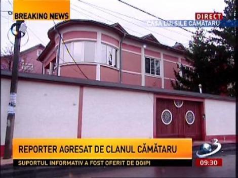 Violențe acasă la Sile Cămătaru. Reporterii Antena 3, agresați