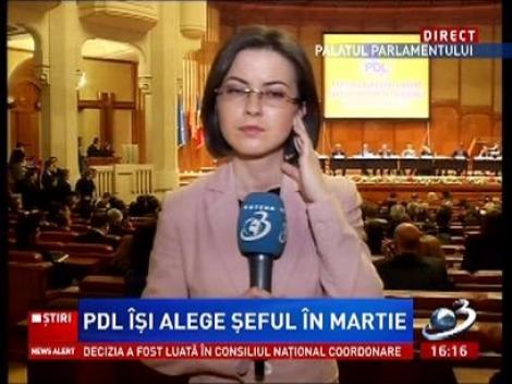 PDL își alege șeful în martie