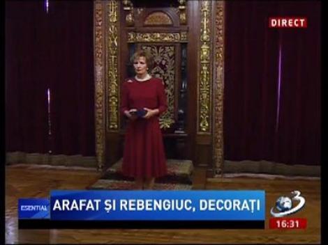 Raed Arafat şi Victor Rebengiuc, decoraţi de Casa Regală