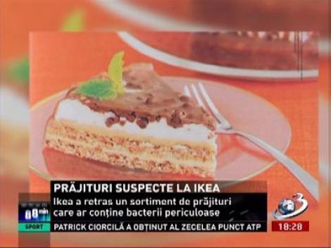 Prăjituri contaminate cu bacterii fecale, descoperite în restaurantele din Ikea