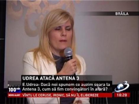 Elena Udrea atacă Antena 3