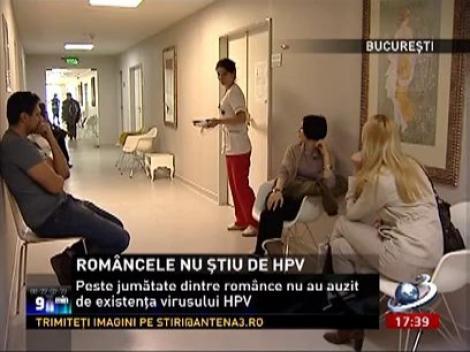 Româncele nu stiu de virusul HPV