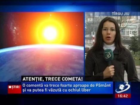 Cometa Pan-STARRS va trece aproape de Pamant si poate fi vazuta cu ochiul liber