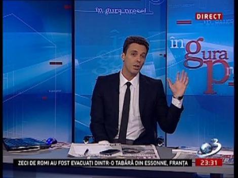 Mircea Badea: În fiecare zi o vacă tuşeşte, un cal behăie, o raţă răţăie şi o găinuşă ia bătaie la Kiss FM de la ZU