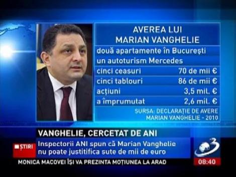 Marian Vanghelie, cercetat de ANI