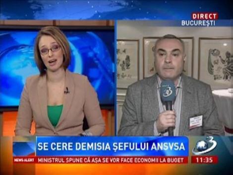 Se cere demisia şefului ANSVSA, Mihai Ţurcanu