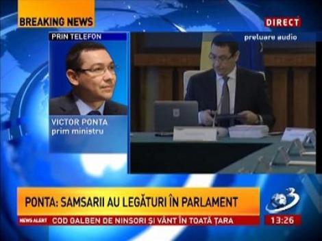 Vctor Ponta: Reogranizăm conducerea ANSVSA
