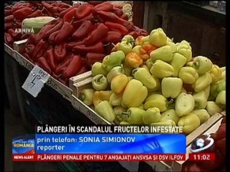 Plângeri penale în scandalul fructelor infestate cu pesticide